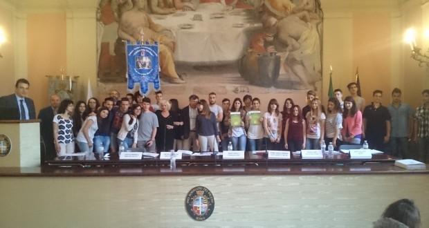 La premiazione a Roma