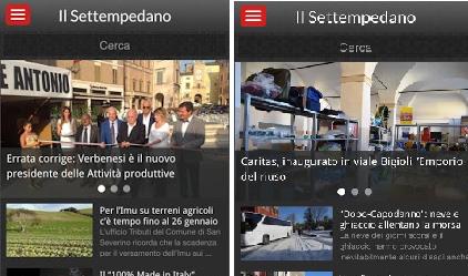 """Novità: anche """"Il Settempedano"""" ha la sua App"""