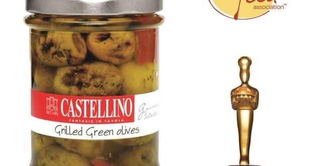 """Le olive grigliate della """"Castellino"""" in corsa per gli Oscar dell'alimentazione"""