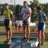Sul podio: 1° Andrea Angeletti, 2° Danny Sargoni