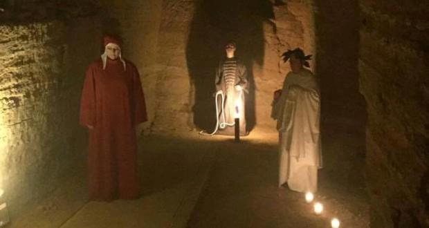 La Divina commedia di Dante ambientata al Castello