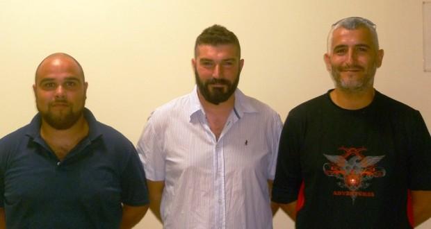 Da sinistra: Paolo Governatori Gobbi, Samuele Bonifazi e Federico Cardorani