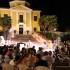 La serata a Villa Collio