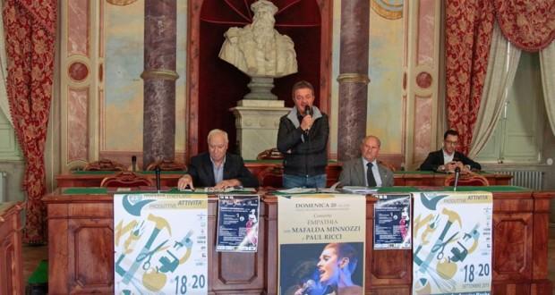 La conferenza stampa di presentazione dell'evento (foto Luca Mengoni)