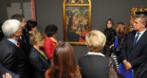 L'opera in mostra a Torino nella sala d'apertura
