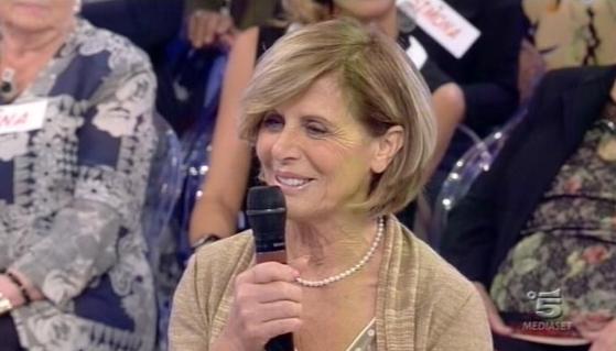 """La signora Irene a """"Uomini e donne"""" su Canale 5"""