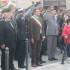 La cerimonia con il saluto delle forze armate