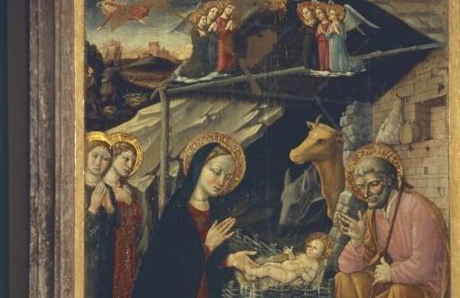 Lorenzo d'Alessandro, Natività. Opera custodita in Pinacoteca