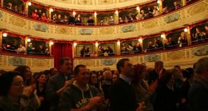 L'entusiasmo del pubblico del Feronia