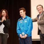 Il sindaco Martini premia il giovane Sorichetti