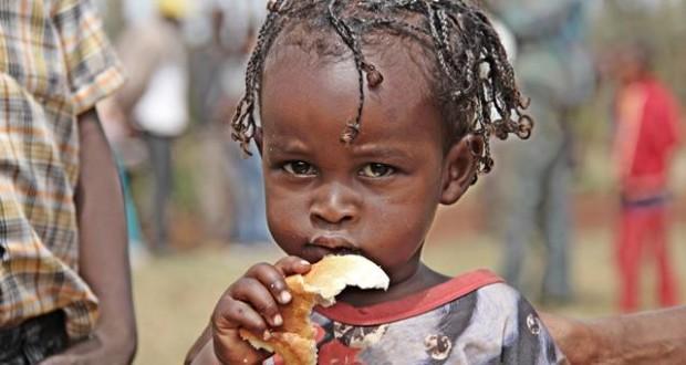 Una bambina etiope