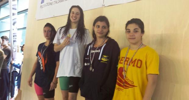 Fabriano, Lucia Cialoni sul gradino più alto del podio