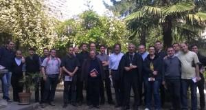 Il gruppo in visita alla Pinacoteca
