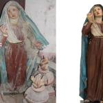 La Madonna Addolorata di Aliforni: prima e dopo il restauro