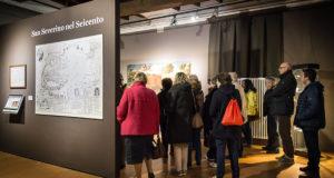 Visitatori in Pinacoteca il 25 aprile (foto Hexagon Group)