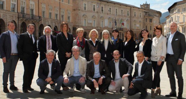 Rosa Piermattei e i candidati consiglieri della lista