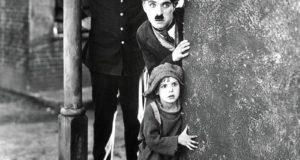 """Chaplin in """"The Kid"""""""