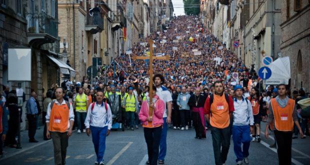 L'arrivo a Loreto (foto d'archivio)