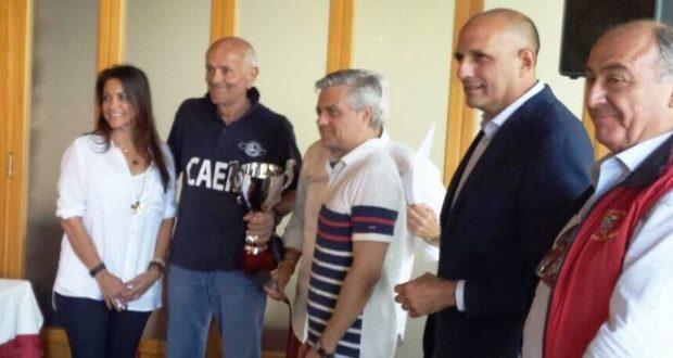 Le premiazioni alla Coppa Borzacchini