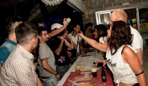 """Un momento della festa al """"San Pacifico"""" (foto d'archivio)"""