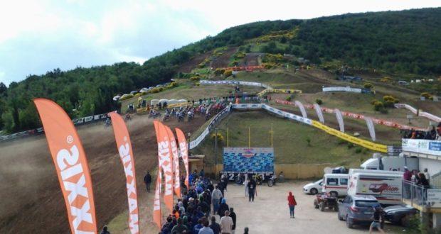 """La pista del """"San Pacifico"""" durante la prova del Campionato italiano Mx1-Mx2"""