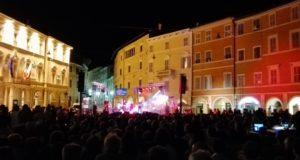 Il concerto in piazza con oltre 1.500 spettatori