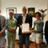 Delegazione del Comitato in Regione per consegnare a Ceriscioli le 20 mila firme raccolte a sostegno dell'ospedale