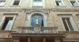 Il palazzo della Provincia a Macerata