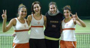 La squadra femminile promossa in serie C