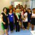 Gli operatori del nuovo Centro assieme al sindaco Rosa Piermattei