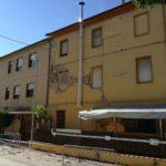 Una delle abitazioni recentemente demolite