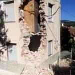Abitazione gravemente lesionata