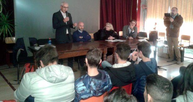 L'intervento del consigliere regionale Luigi Zura Puntaroni