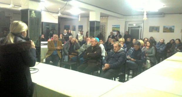 L'assemblea svoltasi a Parolito