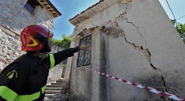 Sopralluoghi nelle zone colpite dal sisma