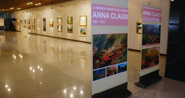 I quadri di Anna Claudi in mostra in Argentina e poi Uruguay