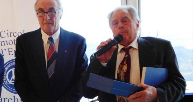 Pietro Caglini (a sinistra)