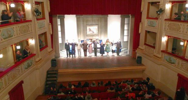 Lo spettacolo andato in scena al Feronia