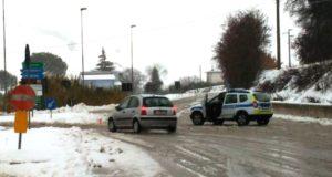Maltempo e Polizia municipale in azione