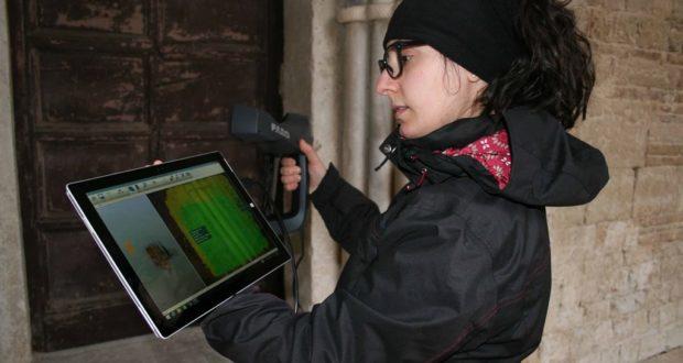 Alta tecnologia in campo con l'equipe del Politecnico di Torino