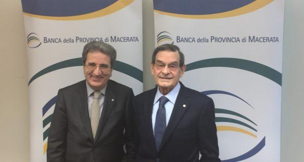 Il direttore generale Ferdinando Cavallini (a sinistra) e il presidente Loris Tartuferi