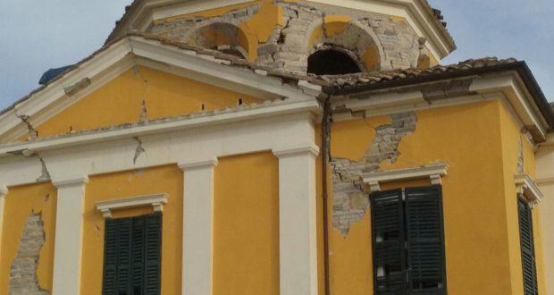 Villa Collio gravemente danneggiata dal terremoto