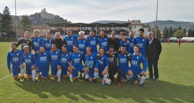 Nazionale italiana attori in campo a San Severino