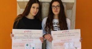 Le due studentesse dell'Itis