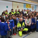 La foto di gruppo con i benefattori di Bagnocavallo