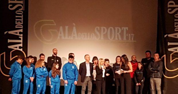 La presenza di San Severino al Galà dello sport