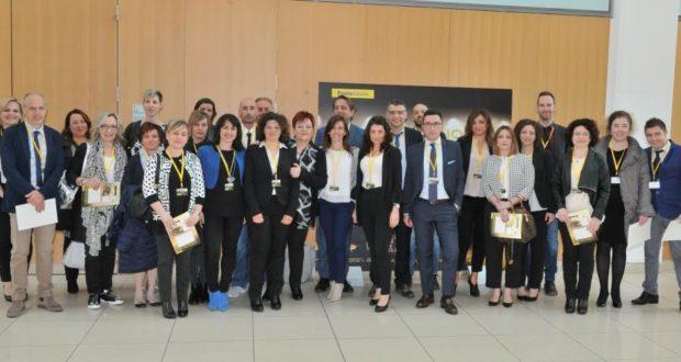 Delegazione maceratese presente a Rimini