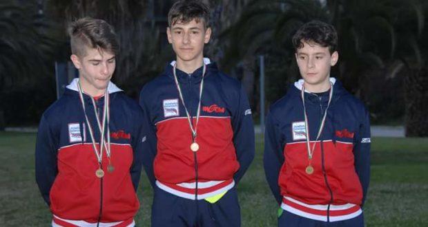 Campionati regionali: atleti della Rotellistica Settempeda a medaglia