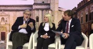 Sgarbi e il sindaco alla Bit di Milano