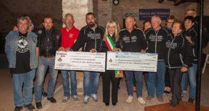 I friulani a San Severino per la consegna dei fondi raccolti